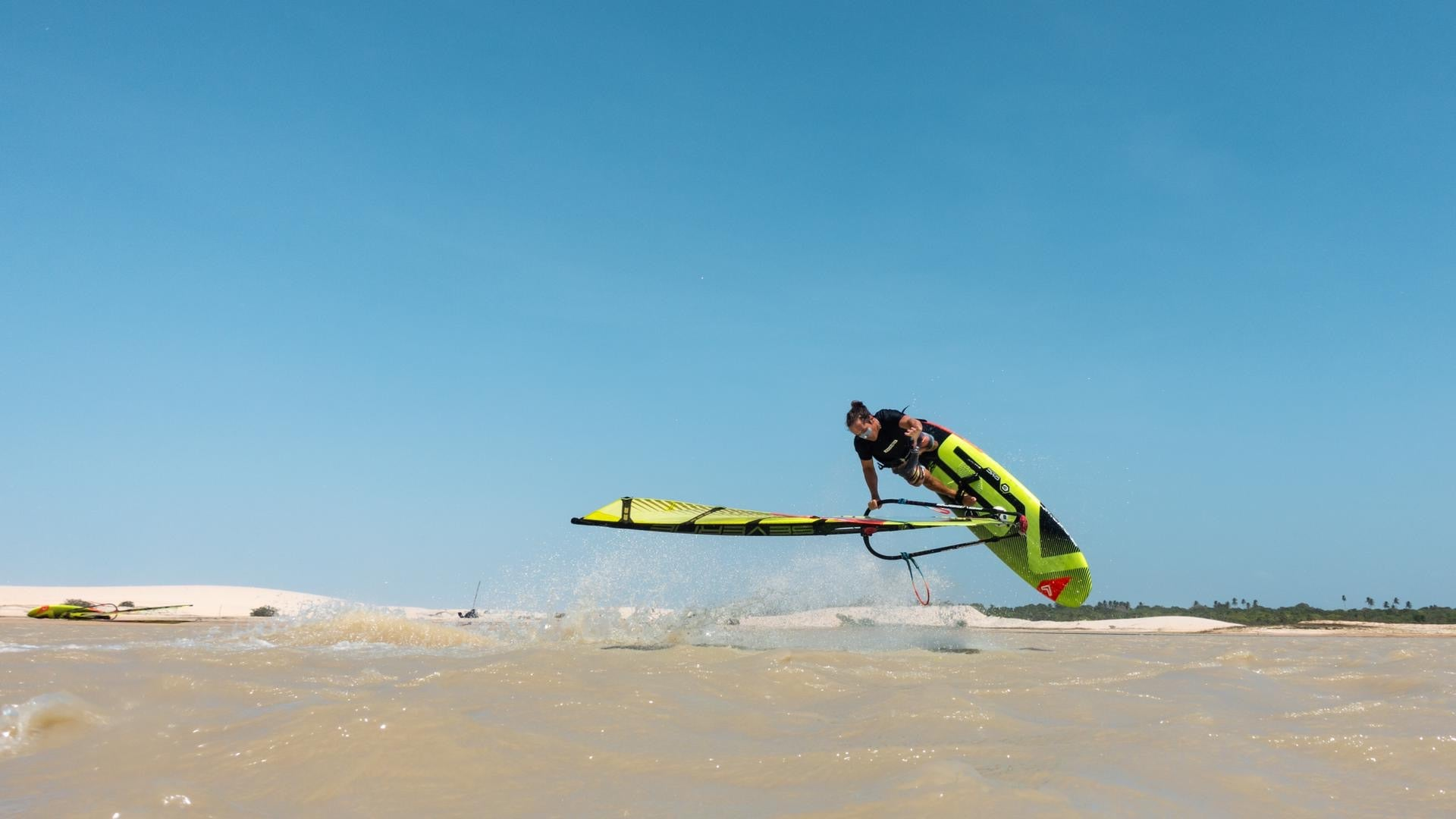 Felix Volkhardt Jibe Wear Team Rider Windsurfing Freestyle Severne