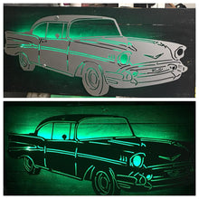 Load image into Gallery viewer, 1957 Chevy BelAir LED Sign