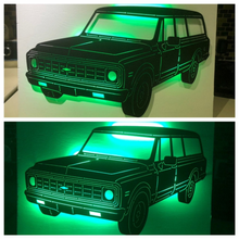 Load image into Gallery viewer, 1972 Chevrolet Carryall Suburban Metal Sign With Or Without LEDs