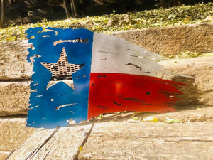 Tattered Texas Battle Flag
