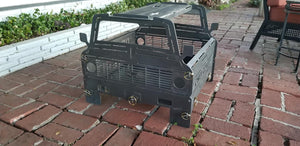 C10 Chevy Fire Pit - Woodpost Metalworks
