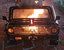 Load image into Gallery viewer, C10 Chevy Fire Pit - Woodpost Metalworks