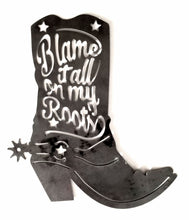 Load image into Gallery viewer, Blame It On My Roots Boot - Woodpost Metalworks