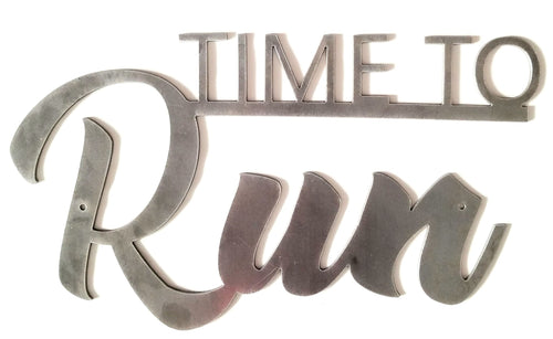 Time to Run - Woodpost Metalworks