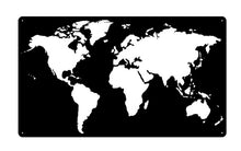 Load image into Gallery viewer, World Map Negative Space