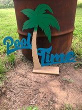Load image into Gallery viewer, Pool Time Three Color - Woodpost Metalworks