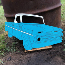 Load image into Gallery viewer, 1965 - 68 Chevrolette C10 Truck Metal Sign With Or Without LEDs