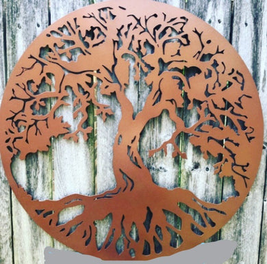 Tree of Life - Woodpost Metalworks