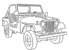 Load image into Gallery viewer, Jeep Triumph Off-Road Silhouette