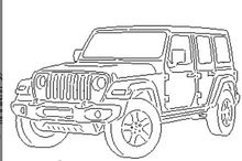Load image into Gallery viewer, Jeep Wrangler Rubicon - Woodpost Metalworks