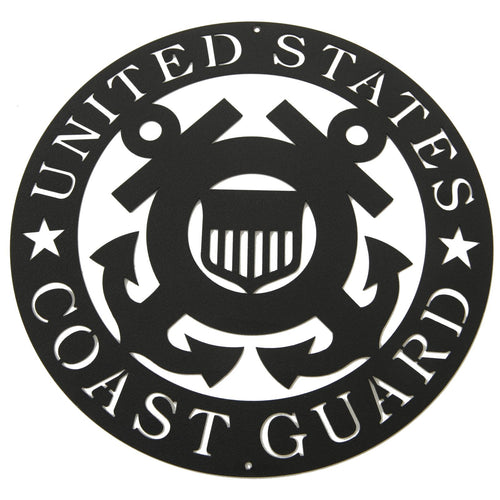 Coast Guard Crest - Woodpost Metalworks