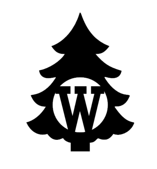 Christmas Tree Monogram