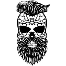 Load image into Gallery viewer, Bearded Skull - Woodpost Metalworks