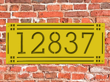 Load image into Gallery viewer, Craftsman Style Address Numbers