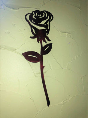 Single Rose - Woodpost Metalworks
