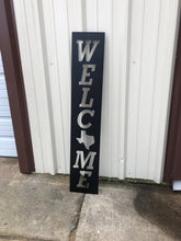 Load image into Gallery viewer, Rectangle Welcome Sign - Woodpost Metalworks