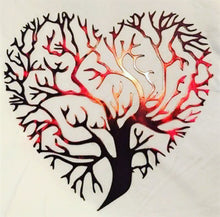 Load image into Gallery viewer, Heart Tree - Woodpost Metalworks