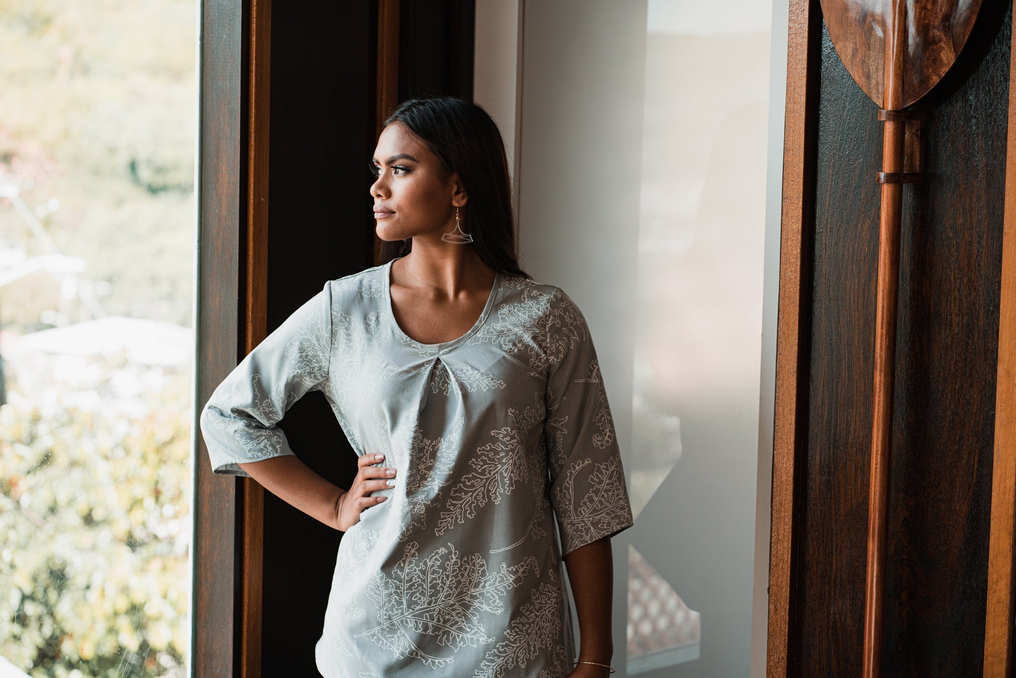 Luci Top | Grey Palaʻā