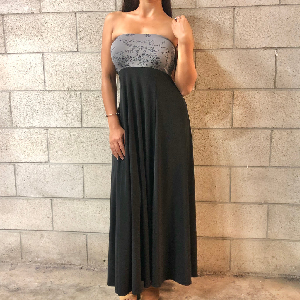 ʻAuana Dress | Grey Palaʻā