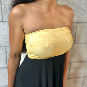 ʻAuana Dress | Yellow Palaʻā