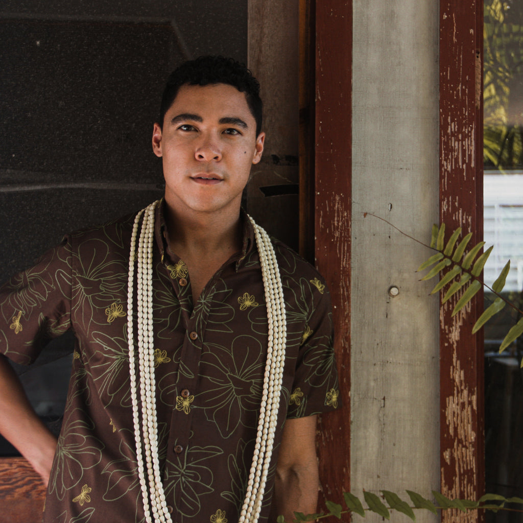 Kaʻōpua Shirt | Laulau Brown