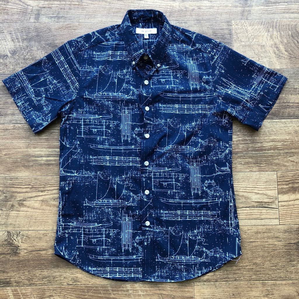 Hawaiʻi Shirt | Navy Ka Waʻa