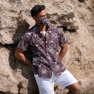 Kaʻōpua Shirt | Brown Naupaka