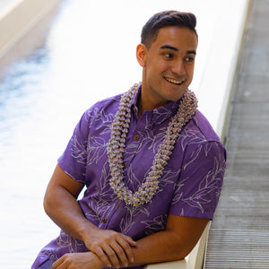 Kaʻōpua Shirt | Purple Maile