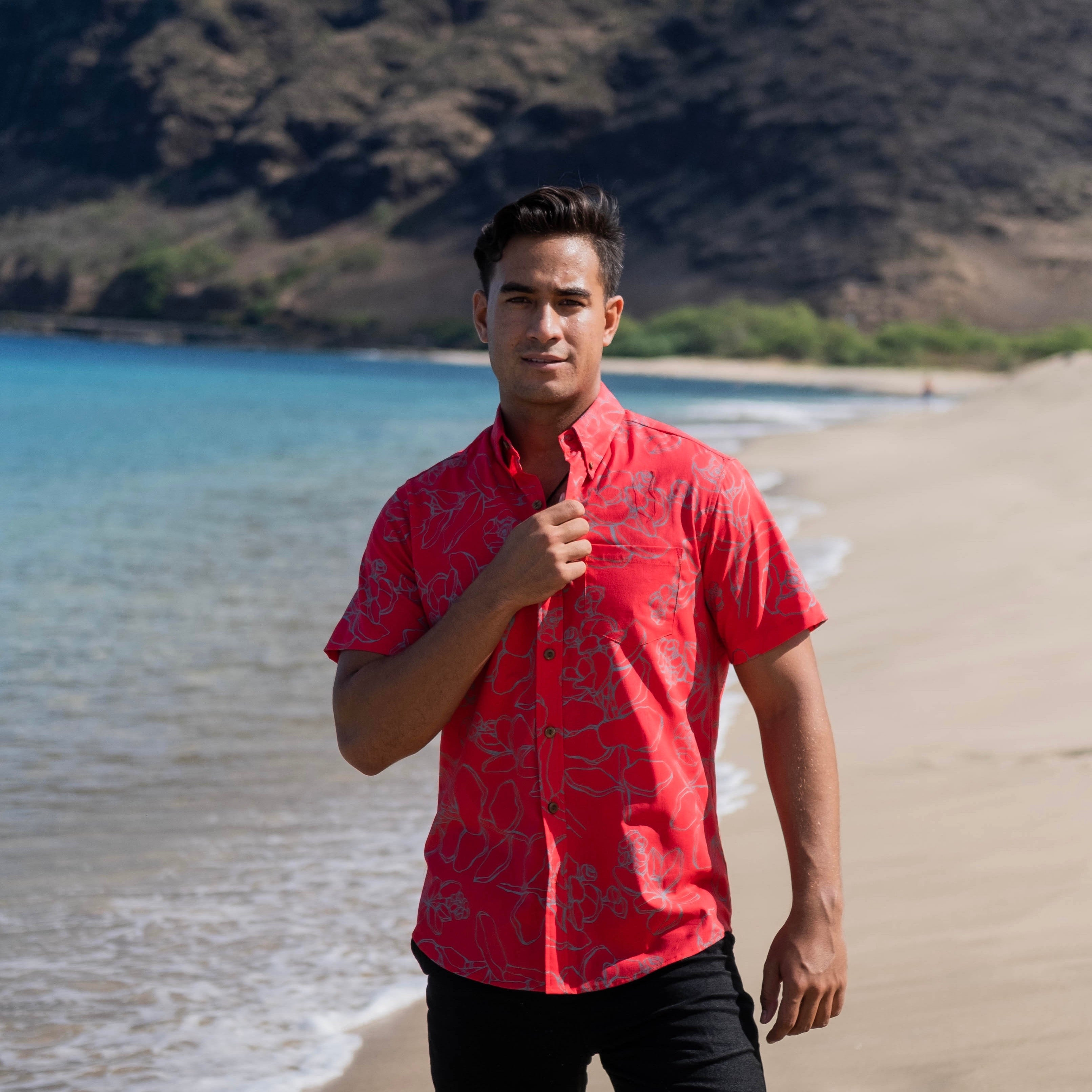 Kaʻōpua Shirt | Red Likolani
