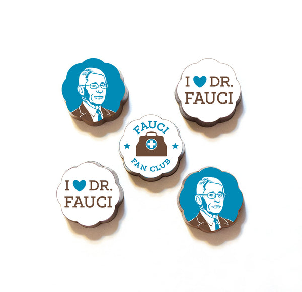Dr Fauci Fan Club Chocolates