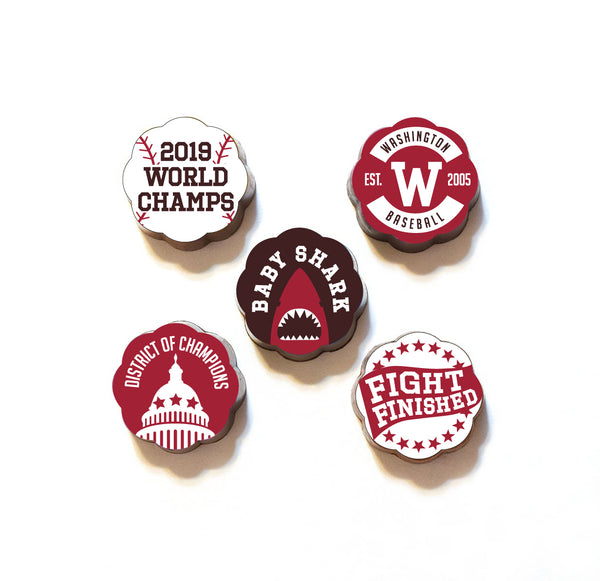 Washington Baseball Championship Chocolates