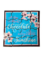 A Day Without Sunshine Chocolate Puzzle - Patent Pending