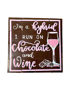 Chocolate and Wine Hybrid  Chocolate Puzzle - Patent Pending