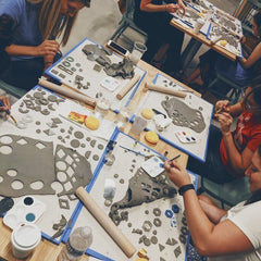 Ceramic Jewelry Making Class- Charlotte