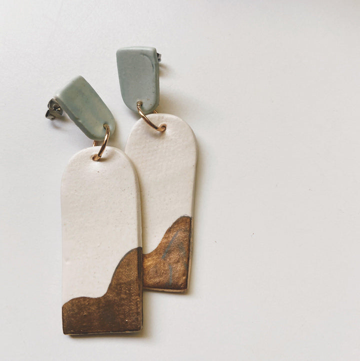 ALASKA- statement earrings - gloriafaye