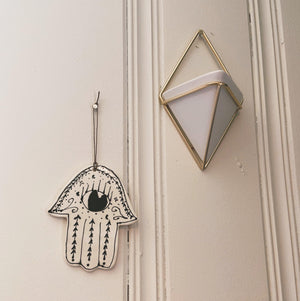 Evil Eye Wall Hanging- Eye Open - gloriafaye