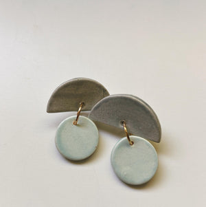 RILL RILL- Gray and Sea Green - gloriafaye