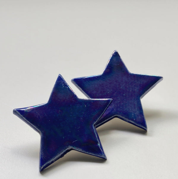 Blue Star Studs - gloriafaye
