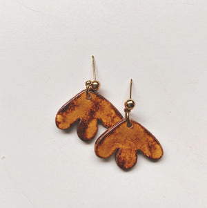 small ceramic earrings
