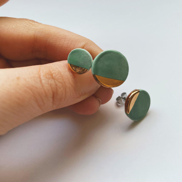 small and medium ceramic studs