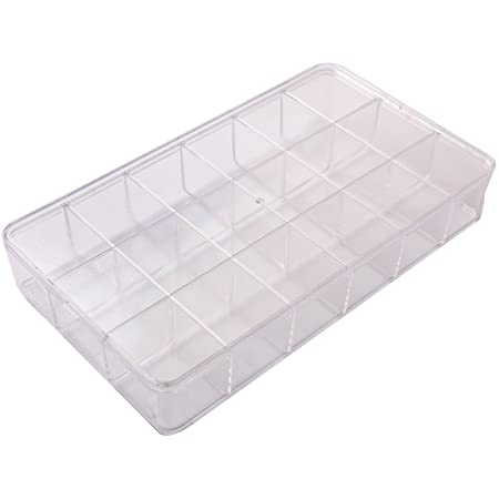 10 COMPARTMENT CRYSTAL CLEAR TRAY-Transcontinental Tool Co