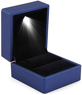 LIGHT RING BOX BLUE 1PC-Transcontinental Tool Co