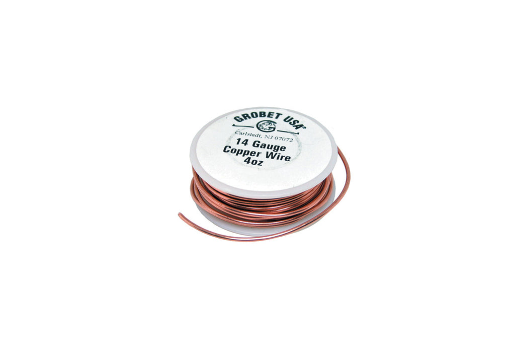 COPPER WIRE 14GA 1.63MM 1/4LB-Transcontinental Tool Co