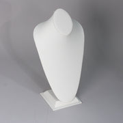 "EXTRA-LARGE CONTOURED NECK BUST WHITE LEATHER 14-1/2""-Transcontinental Tool Co"