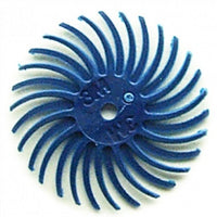 "3M RADIAL BRISTLE DISCS 400G BLUE 9/16"" (6PCS)-Transcontinental Tool Co"