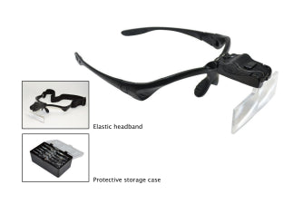 LED MAGNIFIER WITH 5 LENSES-Transcontinental Tool Co