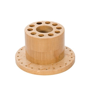 ROUND WOOD TOOL STAND-Transcontinental Tool Co