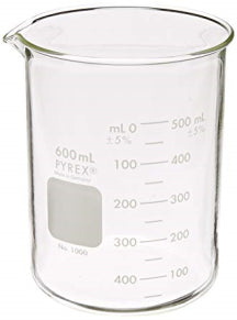 600ML PYREX BEAKERS-Transcontinental Tool Co