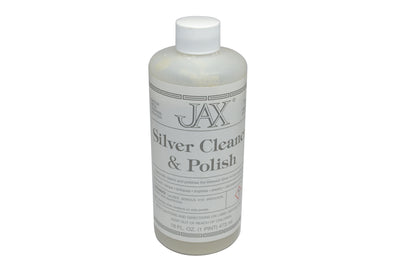 JAX SILVER CLEANER & POLISH - 1 PINT-Transcontinental Tool Co