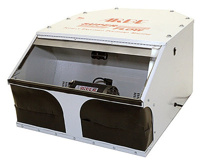 ARBE ENCLOSED TABLE-TOP POLISHING MACHINE-Transcontinental Tool Co